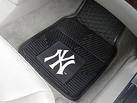 New York Yankees MLB Logo Vinyl Car Mats - 2 Piece Set FM-8759