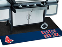 "Boston Red Sox MLB Logo Grill Mat - 26"" x 42"" FM-12147"