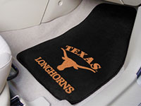 Texas Longhorns NCAA Logo Carpet Car Mats - 2 Piece Set FM-5641