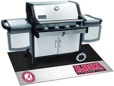 Show off your favorite NCAA team while also protection for your deck/patio from oil, flame and UV rays. University of Alabama Crimson Tide Licensed NCAA Logo Grill Mat.