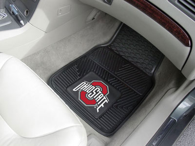 Texas Longhorns NCAA Logo Heavy-Duty Vinyl Car Mat