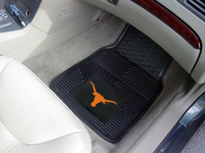 Texas Longhorns NCAA College Logo Vinyl Car Floor Mat