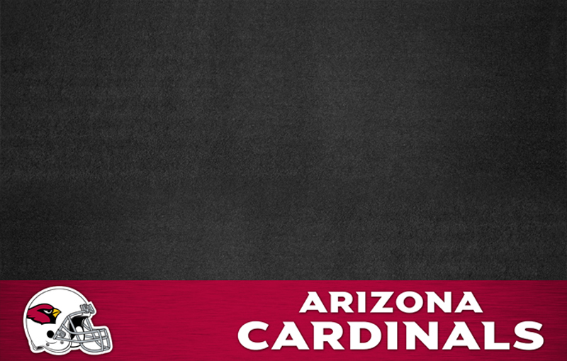Arizona Cardinals NFL Grill Mat. Protect your deck or patio while also showing off your pride in your favorite football team! NFL - Arizona Cardinals Grill Floor Mat.