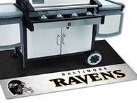 NFL Baltimore Ravens Grill Mats