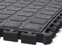 Hog Heaven Modular Tile II Anti-Fatigue Mat w/ Grit Surface AM-524