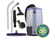 Super Coach Pro 6 Backpack Vacuum w/ Xover Tool Kit B PT-107308