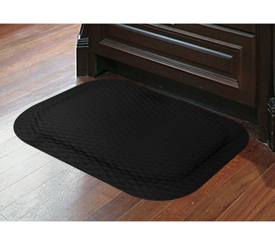 "Hog Heaven Anti-Fatigue Mat - Black Border - 7/8"" Thick"