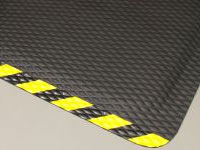 "Hog Heaven Anti-Fatigue Mat - OSHA Border - 5/8"" Thick AM-423"