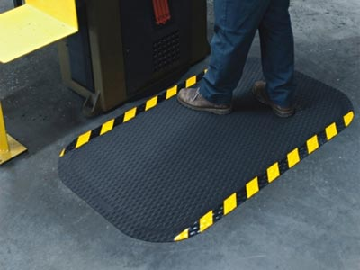 Hog Heaven Dry Area Anti Fatigue Mat Osha Border