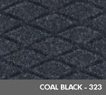 Hog Heaven Fashion Anti-Fatigue Mat - Coal Black - 323