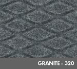 Hog Heaven Fashion Anti-Fatigue Mat - Granite - 320