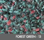 Hog Heaven Plush Dry Area Anti-Fatigue Mat - Forest Green