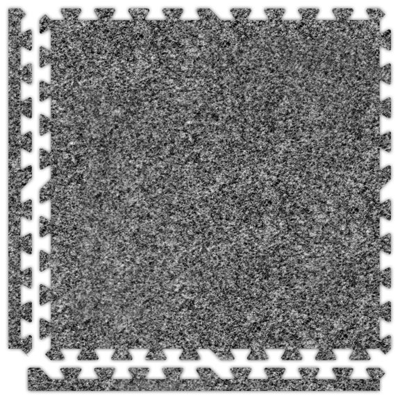 Premium Soft Carpets Interlocking Tile Mats - 5/8""