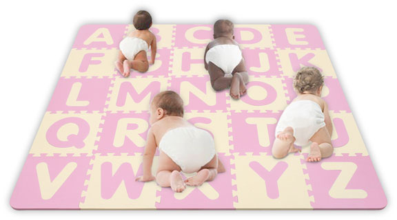 5' x 5' Soft Baby Soft Floors Playmats