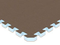 "2' x 2' x 1"" Jumbo Reversible Soft Floors Interlocking Tiles AL-JRSF221"