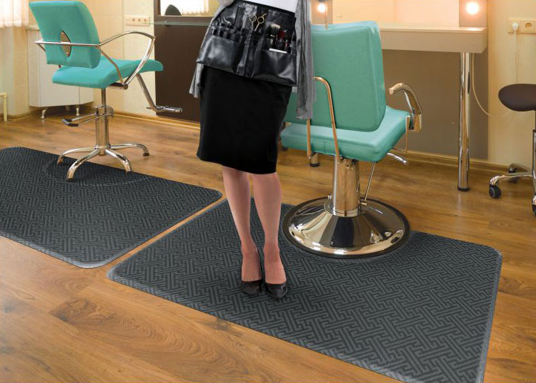 indoor anti-fatigue salon decor mat - floormatshop