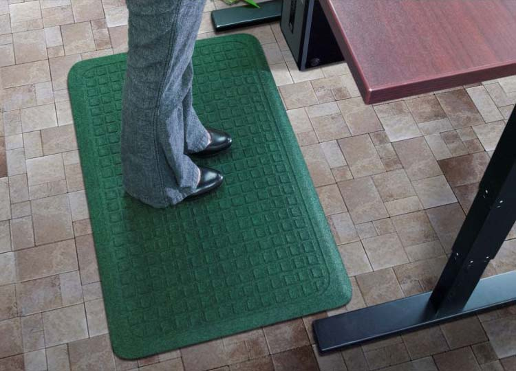Get Fit Stand Up Anti Fatigue Desk Mat