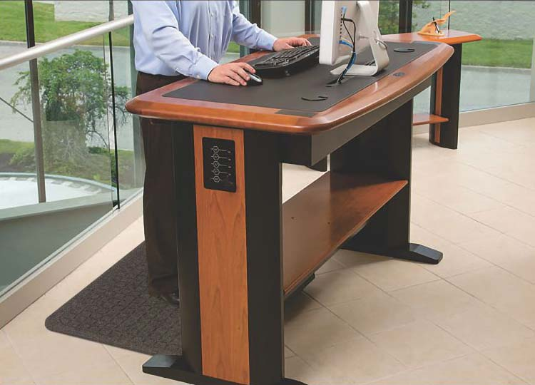 Get Fit Stand Up Mats provide maximum comfort while standing long hours in the office.