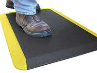 EcoPro Yellow Stripe Anti-Fatigue Mat