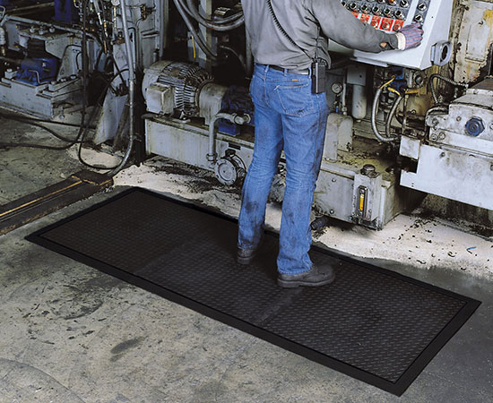 Diamond Top Interlock Anti-Fatigue Mat