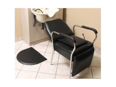 Ortho Tuff Skin Ultra Comfort Professional Barber/Salon Mat - Semi Circle