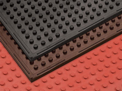 Traction Mat Multi-Purpose Anti-Fatigue Floor Mat - 3/8
