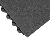 Click Mat Solid Heavy-Duty Anti-Fatigue Floor Mat - 3/4""