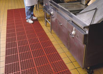 Oily Area Floor Mats - Anti-Fatigue