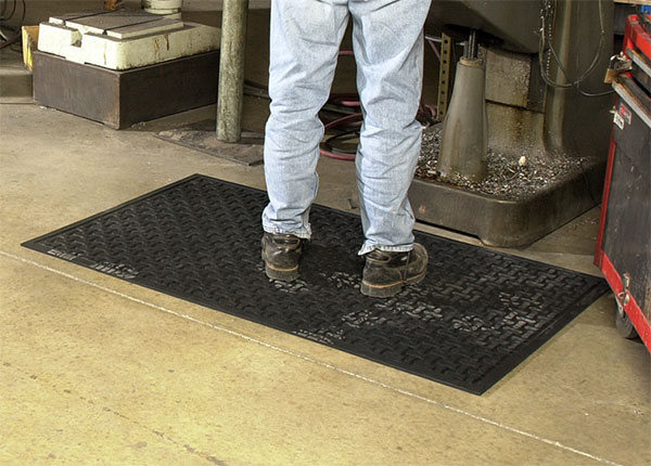 Comfort Scrape Wet/Oily Area Anti-Fatigue Mat