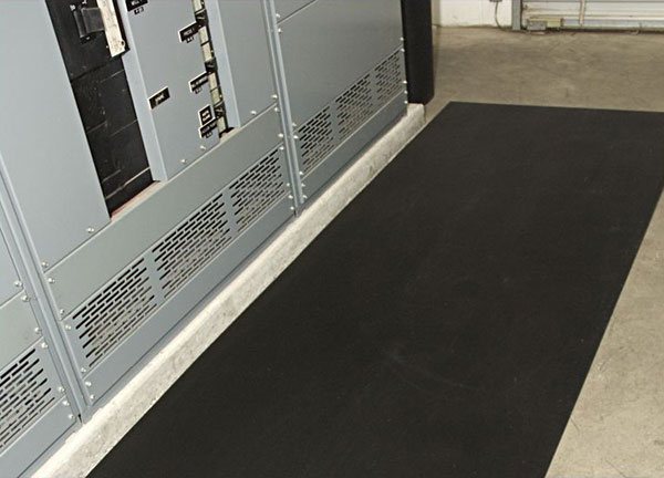 Corrugated Switchboard Non-Conductive Runner Mat