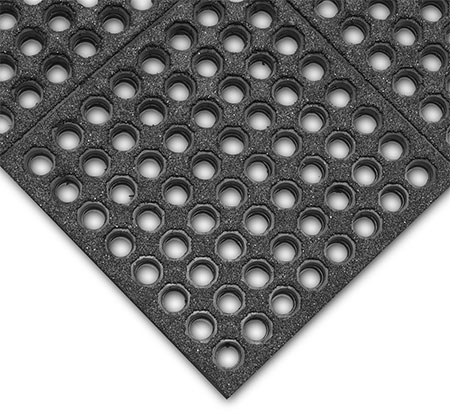 Cushion-Ease ESD Conductive Mat - Perforated