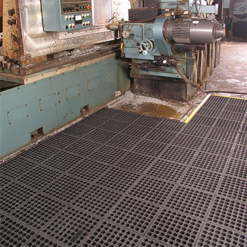 Cushion-Ease ESD Conductive Anti-Fatigue Mat - Perforated