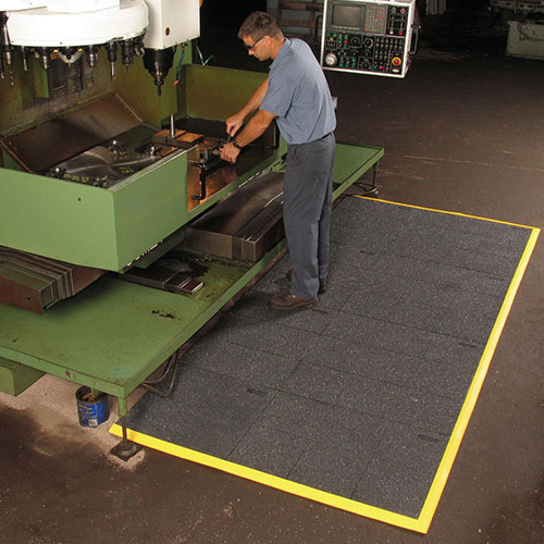 Cushion-Ease ESD Static Dissipative Anti-Fatigue Mat - Solid