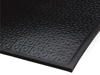 Happy Feet Anti-Fatigue Mat - Textured, Black Border AM-465B