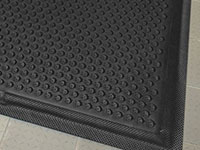 Happy Feet Anti-Fatigue Mat - Grip, Black Border AM-475B
