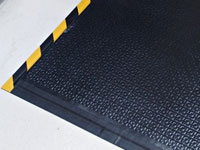 Happy Feet Anti-Fatigue Mat - Textured, OSHA Border AM-466S