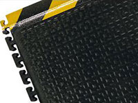 Happy Feet Linkable Anti-Fatigue Mat - Textured, OSHA Border AM-467S