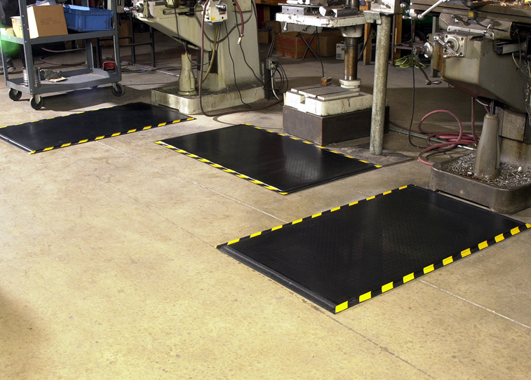 Happy Feet Anti-Fatigue Mat - Textured, OSHA Border