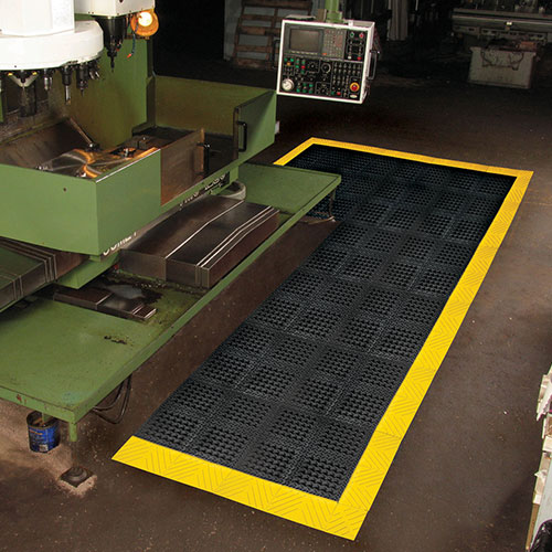 Diamond Flex-Lok Solid Safety Anti-Fatigue Mat - Dry Area
