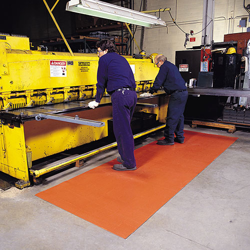 Niru Knob Top Industrial Anti-Fatigue Runner Mat