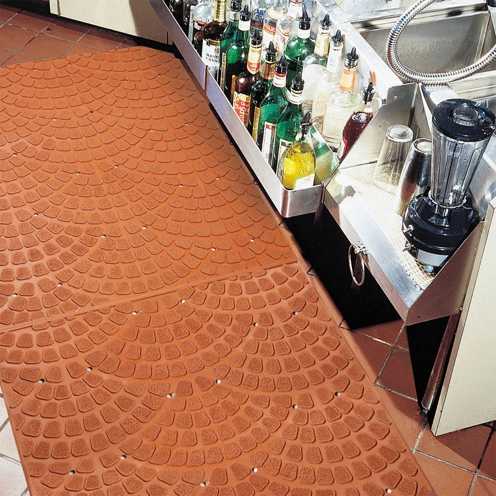 grip true anti-slip & anti-fatigue kitchen floor mat - 3/8