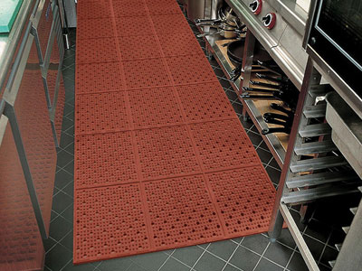 Multi-Mat II Reversible Drainage Anti-Fatigue Floor Mat - 3/8""