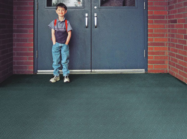Waterhog Classic Tile Entrance System - Square Pattern