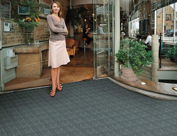 Waterhog Classic Square Tile Entrance Mats