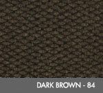 Andersen [2282] Berber Roll Goods Scraper/Wiper Entrance Mat – Dark Brown - 84