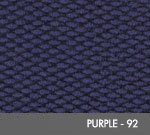 Andersen [2282] Berber Roll Goods Scraper/Wiper Entrance Mat – Purple - 92