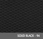 Andersen [2282] Berber Roll Goods Scraper/Wiper Entrance Mat – Solid Black - 94