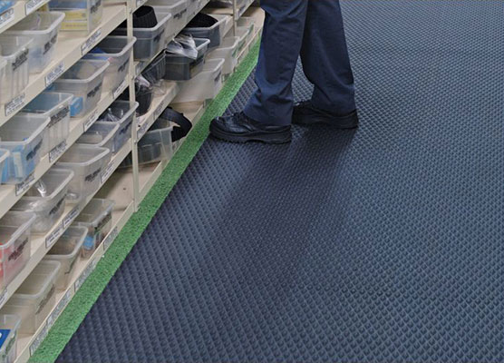 Traction Tread Slip-Resistant Floor Protection Runner Mat