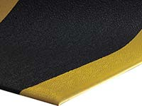 Sure Cushion PVC Foam Running Mat w/ Yellow Borders