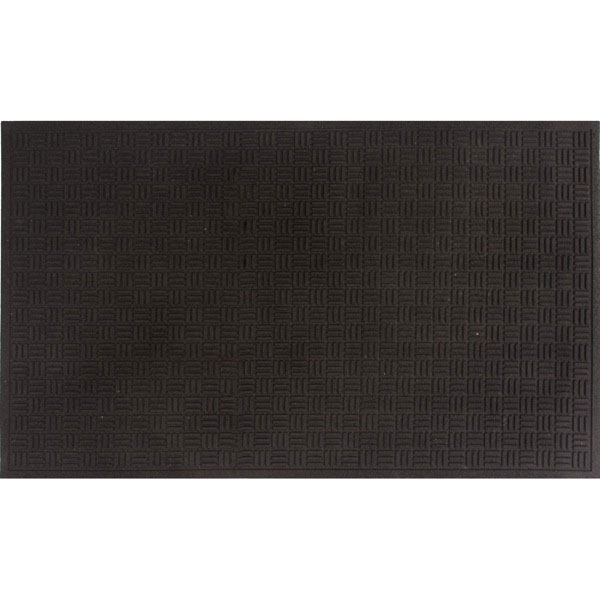 "Mission Outdoor Entrance Mat - 60"" x 36"" - Black"